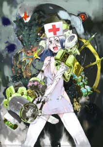 Rating: Safe Score: 22 Tags: cleavage monster nurse thighhighs toi8 tutorial User: crim