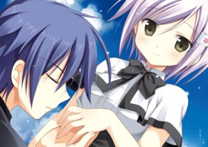 Rating: Safe Score: 10 Tags: juuoumujin_no_fafnir korie_riko seifuku tagme User: Twinsenzw