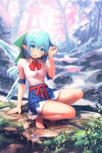 Rating: Safe Score: 51 Tags: cirno kurobuta_gekkan pointy_ears see_through touhou wet wet_clothes wings User: Mr_GT