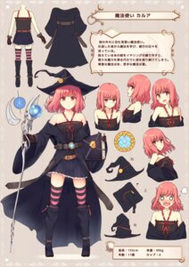 Rating: Safe Score: 32 Tags: character_design dress tagme thighhighs tsuchikure_(3105mitoko) weapon witch User: fairyren