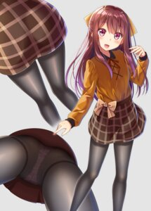 Rating: Safe Score: 81 Tags: gurande kamikaze_(kancolle) kantai_collection pantsu pantyhose User: fairyren