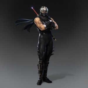 Rating: Questionable Score: 2 Tags: ninja ninja_gaiden ryu_hayabusa sword User: Yokaiou