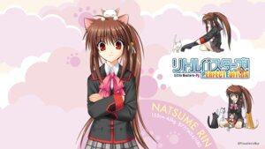 Rating: Safe Score: 12 Tags: animal_ears key little_busters! na-ga natsume_rin neko nekomimi seifuku wallpaper User: girlcelly