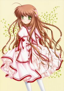 Rating: Safe Score: 26 Tags: hinoue_itaru kanbe_kotori lolita_fashion rewrite seifuku User: Kalafina