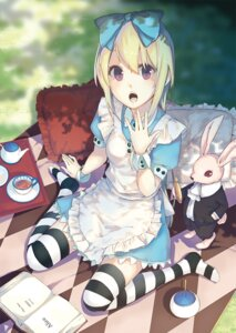 Rating: Safe Score: 45 Tags: alice alice_in_wonderland la-na thighhighs white_rabbit User: Radioactive