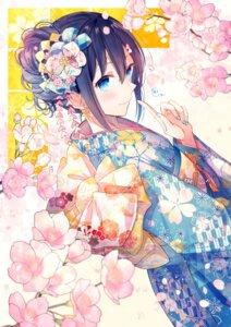 Rating: Safe Score: 33 Tags: goma_(11zihisin) kimono User: BattlequeenYume