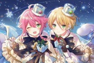 Rating: Safe Score: 11 Tags: christmas ensemble_stars! himemiya_touri male sgf4jo1poihpgnk shiratori_aira_(ensemble_stars!) User: Anceril