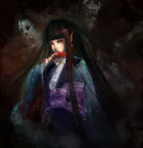 Rating: Safe Score: 11 Tags: blood fangogogo kimono User: charunetra