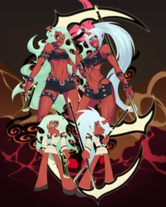 Rating: Safe Score: 33 Tags: business_suit chibi cleavage devil garter gun horns kneesocks megane oniika panty_&_stocking_with_garterbelt scanty User: Mistalleks