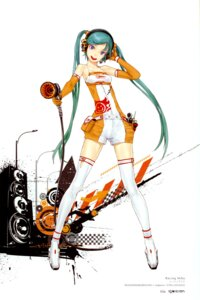 Rating: Safe Score: 56 Tags: color_issue hatsune_miku racing_miku redjuice thighhighs vocaloid User: Radioactive