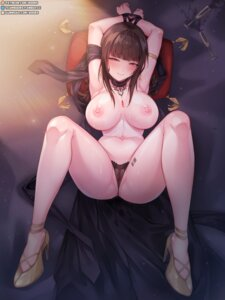 Rating: Explicit Score: 70 Tags: bondage dsr-50_(girls_frontline) girls_frontline heels nipples pussy rebe11 see_through tattoo thong topless uncensored User: BattlequeenYume