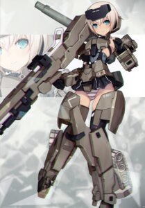 Rating: Questionable Score: 25 Tags: 2d bodysuit frame_arms_girl gourai gun pantsu shimapan User: kiyoe