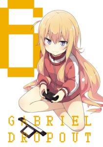 Rating: Safe Score: 32 Tags: gabriel_dropout gym_uniform tenma_gabriel_white ukami User: kiyoe