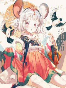 Rating: Safe Score: 24 Tags: animal_ears asian_clothes kinty thighhighs User: Nepcoheart