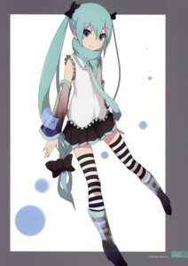Rating: Safe Score: 8 Tags: hatsune_miku heels milky_been! ogipote tagme thighhighs vocaloid User: Hatsukoi
