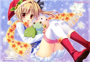 Rating: Safe Score: 62 Tags: christmas fixed hontani_kanae thighhighs User: Anonymous