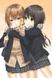 Rating: Safe Score: 19 Tags: heyror seifuku yuri User: Radioactive