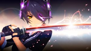 Rating: Safe Score: 36 Tags: eyepatch hell_machina kantai_collection sword tenryuu_(kancolle) User: Mr_GT
