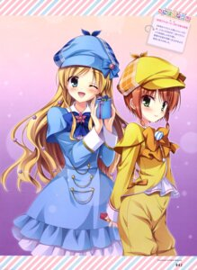 Rating: Safe Score: 26 Tags: cordelia_glauca dress tanihara_natsuki tantei_opera_milky_holmes yuzurizaki_nero User: drop