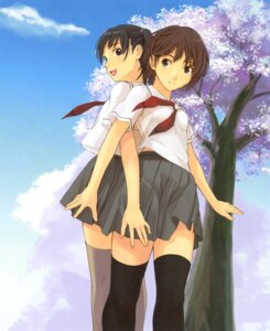 Rating: Safe Score: 10 Tags: seifuku takayama_kisai thighhighs true_love_story User: Radioactive