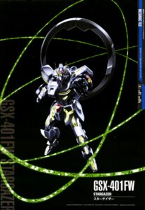 Rating: Safe Score: 13 Tags: gundam gundam_seed_c.e._73:_stargazer mecha nagata_masami weapon User: drop