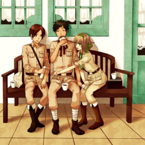 Rating: Safe Score: 7 Tags: belgium enoppi hetalia_axis_powers south_italy spain uniform User: Radioactive