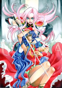 Rating: Safe Score: 6 Tags: dress himemiya_anthy noppo revolutionary_girl_utena sword tenjou_utena User: charunetra