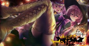 Rating: Safe Score: 67 Tags: daidou halloween megurine_luka vocaloid wallpaper witch User: fairyren