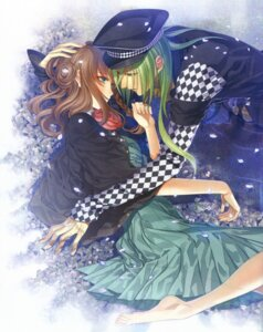 Rating: Safe Score: 4 Tags: amnesia dress feet hanamura_mai shujinkou_(amnesia) ukyo_(amnesia) User: Riven