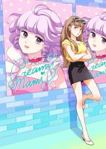Rating: Safe Score: 5 Tags: ayase_megumi breast_hold creamy_mami heels mahou_no_tenshi_creamy_mami megane mitsuki_emi User: saemonnokami