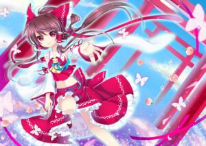 Rating: Safe Score: 13 Tags: hakurei_reimu touhou wa_sakaidera_umeko User: ddns001