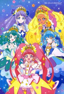 Rating: Questionable Score: 9 Tags: dress star_twinkle_precure thighhighs toei_animation User: drop