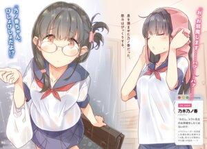 Rating: Questionable Score: 12 Tags: 14-sai_to_illustrator megane mizoguchi_keiji nogi_nonoka see_through seifuku wet_clothes User: kiyoe