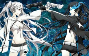 Rating: Safe Score: 53 Tags: black_rock_shooter black_rock_shooter_(character) vocaloid white_rock_shooter yunco User: MadMan
