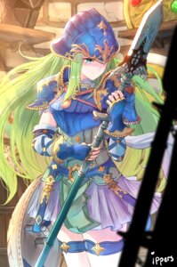 Rating: Safe Score: 29 Tags: armor fire_emblem fire_emblem:_souen_no_kiseki ippers nephenee thighhighs weapon User: Mr_GT