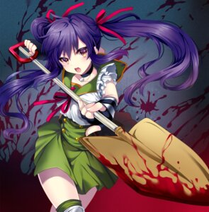 Rating: Questionable Score: 41 Tags: blood ebisuzawa_kurumi gakkou_gurashi! seifuku uzura weapon User: Mr_GT