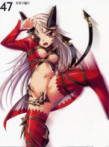 Rating: Questionable Score: 19 Tags: aldra cleavage eyepatch kantaka queen's_blade thighhighs User: admin2