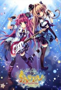 Rating: Safe Score: 83 Tags: guitar izumi_tsubasu jinpou_an koi_ga_saku_koro_sakura_doki mashiroiro_symphony pannya sena_airi thighhighs User: drop