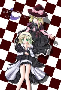 Rating: Safe Score: 3 Tags: alice_margatroid kirisame_marisa pantsu tagme touhou User: Radioactive