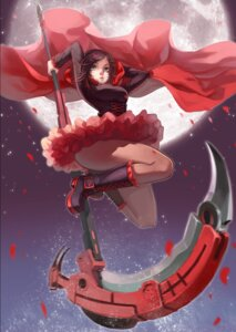 Rating: Safe Score: 52 Tags: bojue_yu_yaojing ruby_rose rwby weapon User: zero|fade