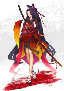 Rating: Safe Score: 52 Tags: japanese_clothes kimono redjuice sword User: Radioactive