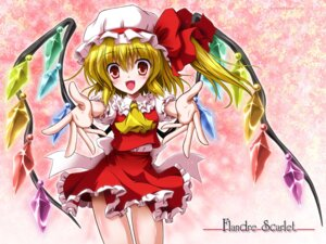 Rating: Safe Score: 14 Tags: flandre_scarlet touhou wallpaper yamu User: fairyren