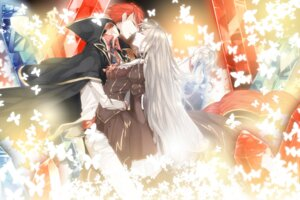 Rating: Safe Score: 8 Tags: asemodekita beatrice dress umineko_no_naku_koro_ni ushiromiya_battler User: ghoulishWitchhx