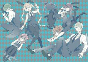 Rating: Safe Score: 23 Tags: akizuki_kouyou amano_miu animal_ears blend_s bunny_ears bunny_girl dino_(blend_s) heels hinata_kaho hoshikawa_mafuyu megane nakayama_miyuki pantyhose sakuranomiya_maika tail User: kiyoe