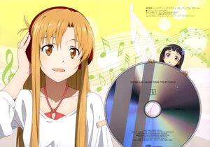 Rating: Safe Score: 54 Tags: asuna_(sword_art_online) headphones nakano_ruizu sword_art_online yui_(sword_art_online) User: drop