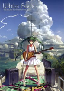 Rating: Safe Score: 64 Tags: alphonse dress guitar hatsune_miku summer_dress vocaloid white_datura User: Aurelia