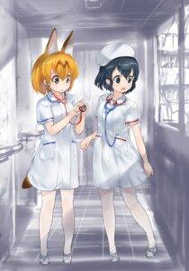 Rating: Safe Score: 21 Tags: animal_ears kaban_(kemono_friends) kemono_friends magu_(mugsfc) nurse pantyhose serval tail User: Mr_GT