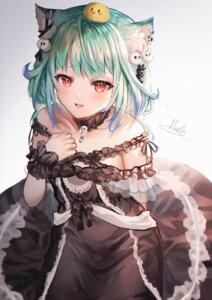 Rating: Safe Score: 19 Tags: animal_ears dress gothic_lolita hololive lolita_fashion nekomimi tagme uruha_rushia User: Mr_GT