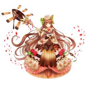Rating: Safe Score: 19 Tags: dress food_fantasy heels lunacle tiramisu_(food_fantasy) weapon User: BattlequeenYume