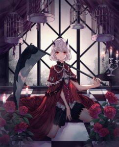 Rating: Safe Score: 19 Tags: bloomers domi horns little_red_riding_hood_(character) weapon User: BattlequeenYume